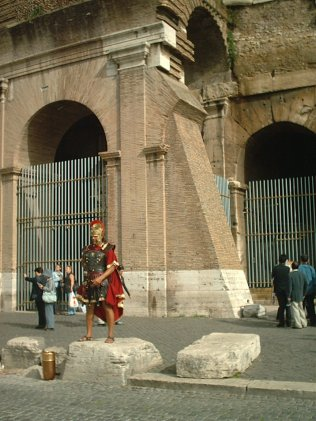 römischer Touri-Nepper