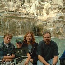 am Trevibrunnen